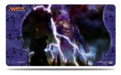 Journey into Nyx Keranos, God of Storms Play Mat for Magic