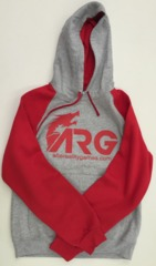 ARG Red/Gray Hoodie on Channel Fireball