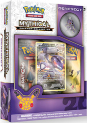 Mythical Pokemon Collection: Genesect Box