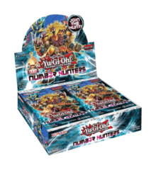 Number Hunters Booster Box 1st Edition on Channel Fireball