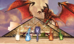 Grand Prix Cleveland 2015 Side Event Playmat - Rock n' Roll Hall of Fame on Channel Fireball