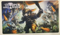 SCG Open Series Hoppin' Rabbit Master Playmat