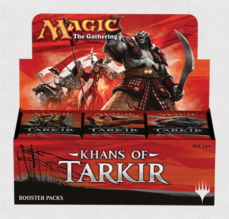 Khans of Tarkir Korean Booster Box