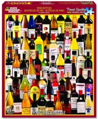 Wine Bottles (1058pz) - 1000 Piece Jigsaw Puzzle on Channel Fireball