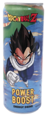 DBZ Vegeta Power Boost Energy Drink (12 oz)
