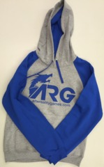 ARG Blue/Gray Hoodie on Channel Fireball
