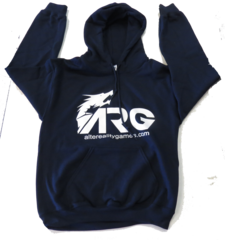 ARG Navy Blue Hooded Sweatshirt on Channel Fireball