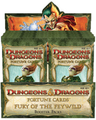 D&D Fortune Cards Fury of the Feywild Booster Pack