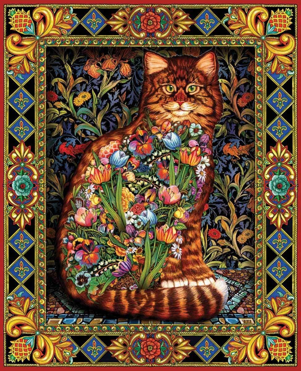 Tapestry Cat