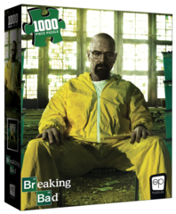 Breaking Bad 1000 Piece Puzzle on Channel Fireball