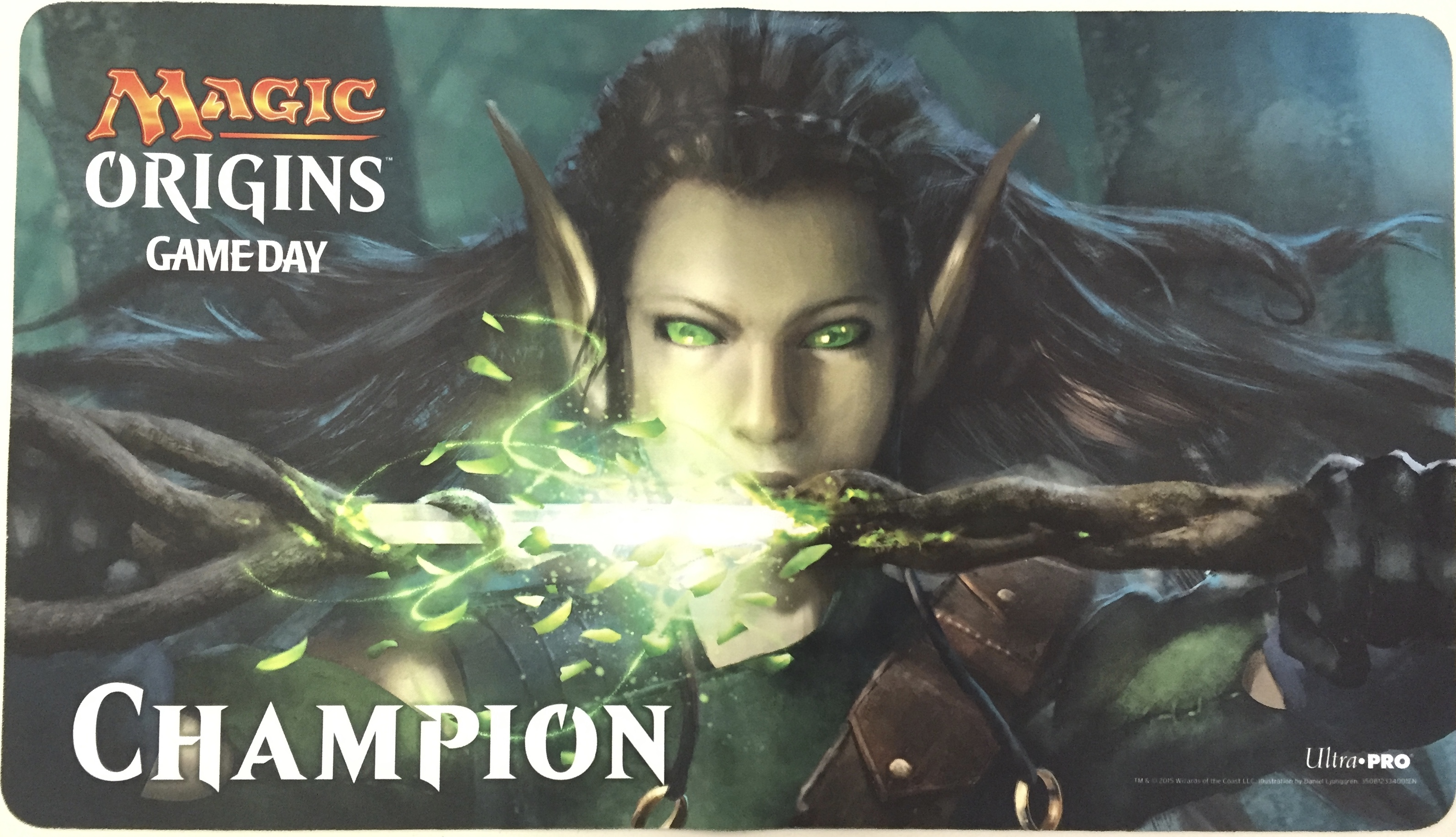 Sword of the Animist Origins Game Day Champion Playmat