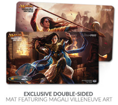 Grand Prix San Diego 2015 Narset, Enlightened/Transcendant (Double Sided) Playmat GP