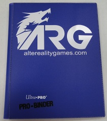 ARG Ultra Pro Pro-Binder-Purple w/ White Logo