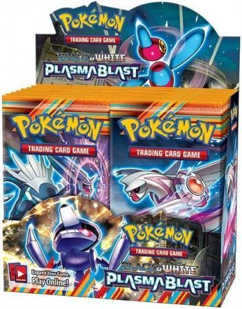 Black & White Plasma Blast Sealed Booster Box