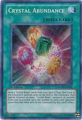 Crystal Abundance - RYMP-EN051 - Secret Rare - 1st Edition