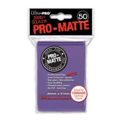 Deck Protector Pro Matte Purple (50) on Channel Fireball