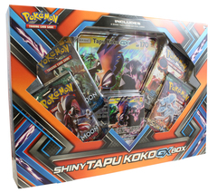Shiny Tapu Koko-Gx Box