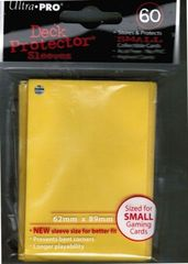 Ultra Pro Yellow (60) Fitted Vanguard Deck Protectors