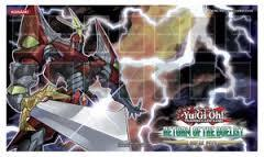 Heroic Champion Excaliber - Return of the Duelist Sneak Peek Playmat on Channel Fireball