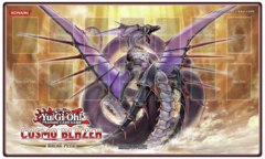Number 92: Heart-Earth Dragon - Cosmo Blazer Sneak Peek Playmat on Channel Fireball