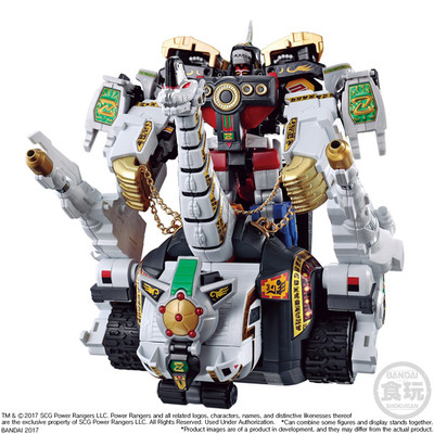 BAN19073: Titanus Power Rangers, Bandai Super Mini Pla