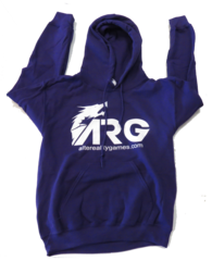 ARG Purple Hooded Sweatshirt on Channel Fireball