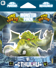 King of Tokyo - Monster Pack #1 Cthulhu