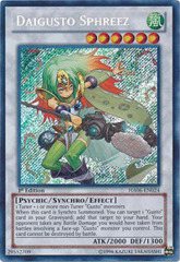 Daigusto Sphreez - HA06-EN024 - Secret Rare - 1st Edition on Channel Fireball