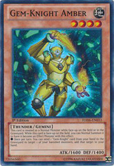 Gem-Knight Amber - HA06-EN033 - Super Rare - 1st Edition