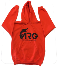 ARG Orange Hooded Sweatshirt on Channel Fireball