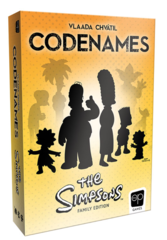 Codenames: Simpsons on Channel Fireball