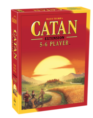 Catan Ext: 5 - 6 Player on Channel Fireball