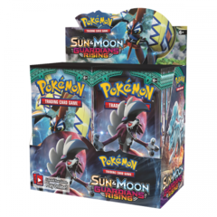 Sun & Moon Guardians Rising Booster Box on Channel Fireball