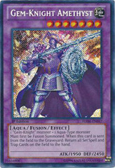 Gem-Knight Amethyst - HA06-EN047 - Secret Rare - 1st Edition