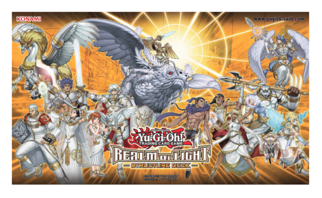 Realm of light structure deck playmat yu gi oh playmats arg game realm of light structure deck playmat mozeypictures Images