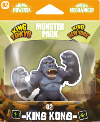 King of Tokyo - Monster Pack #2 King Kong