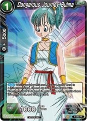 Dangerous Journey Bulma (Foil)  - P-083 - PR on Channel Fireball