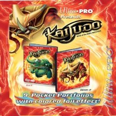 Ultra Pro Kaijudo 9 Pocket Portfolio Tatsurium/Shouter 86500 on Channel Fireball