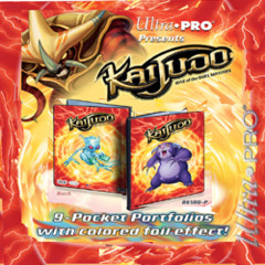 Ultra Pro Kaijudo 9 Pocket Portfolio Scaradorable/Gargle 86501 on Channel Fireball