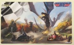 Grand Prix Indianapolis 2015 Race Car/Dragon Side Event Playmat