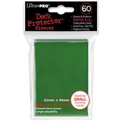 Ultra Pro Green (60) Fitted Vanguard Deck Protectors