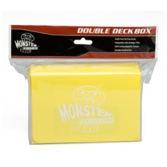 Monster Protectors Card Supplies Yellow Double Deck Box