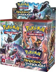 XY BREAKThrough Booster Box on Channel Fireball