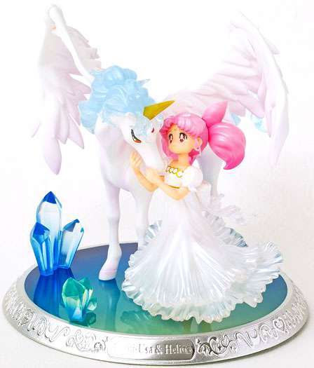 BAN09409: Chibi-Usa and Helios Sailor Moon, Bandai Figuarts Zero Chouette
