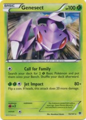 Genesect - 10/101 - Shattered Holo Rare