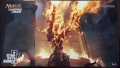 Grand Prix London Chandra - Ravaging Blaze 2015 Playmat