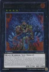 Brotherhood of the Fire Fist - Tiger King - CBLZ-EN048 - Ultimate Rare - 1st Edition on Channel Fireball