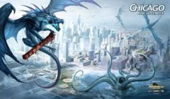 Grand Prix Chicago June 20-22 2014 Dragon Magic the Gathering Playmat on Channel Fireball