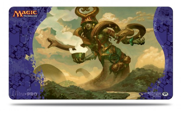 Journey into Nyx Pharika, God of Affliction Play Mat for Magic