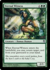 Eternal Witness on Channel Fireball